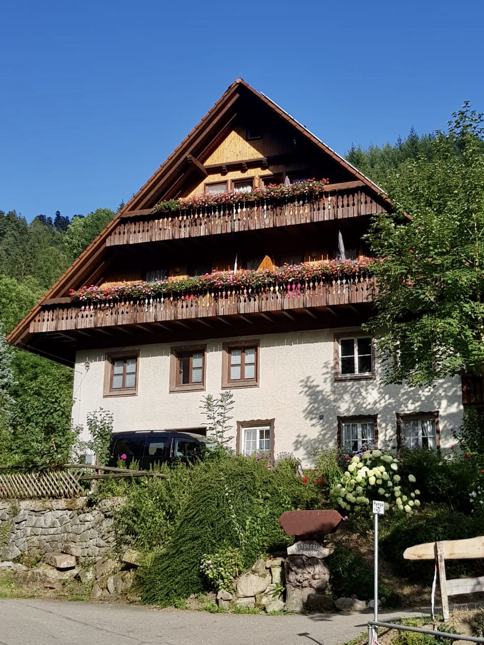 Bartleshof (Wolfach). Doppelzimmer Ferienwohnung  Schwarzwald