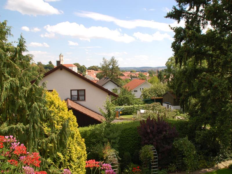 Erfreuen Sie sich an dem einzigartigen Blick über die Dächer von Bad Birnbach