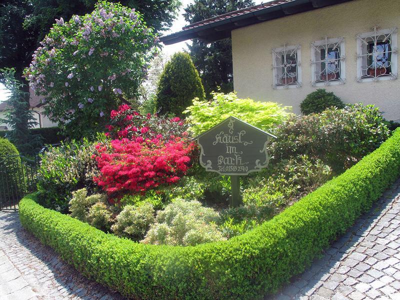 Herzlich willkommen in unserm Häus'l im Park