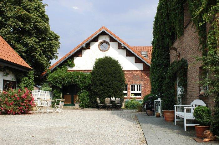 Drostenhof (Rees). Remise Bauernhof in Deutschland