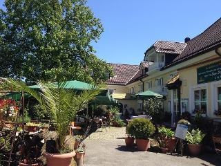 Biergarten , Familien-Landhotel Koller