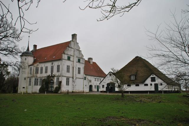 Ferienwohnung Herrenhaus Hoyerswort (Oldenswort). Ferienwohnung-2-Räume - Reiherhorst - 01 (872610), Oldenswort, Nordfriesland, Schleswig-Holstein, Deutschland, Bild 1