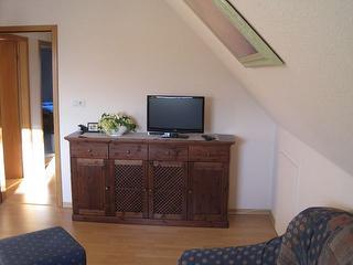 Wohnzimmer Fewo Helga Timmsen