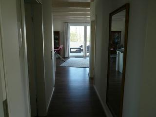 Flur und Wohnzimmer