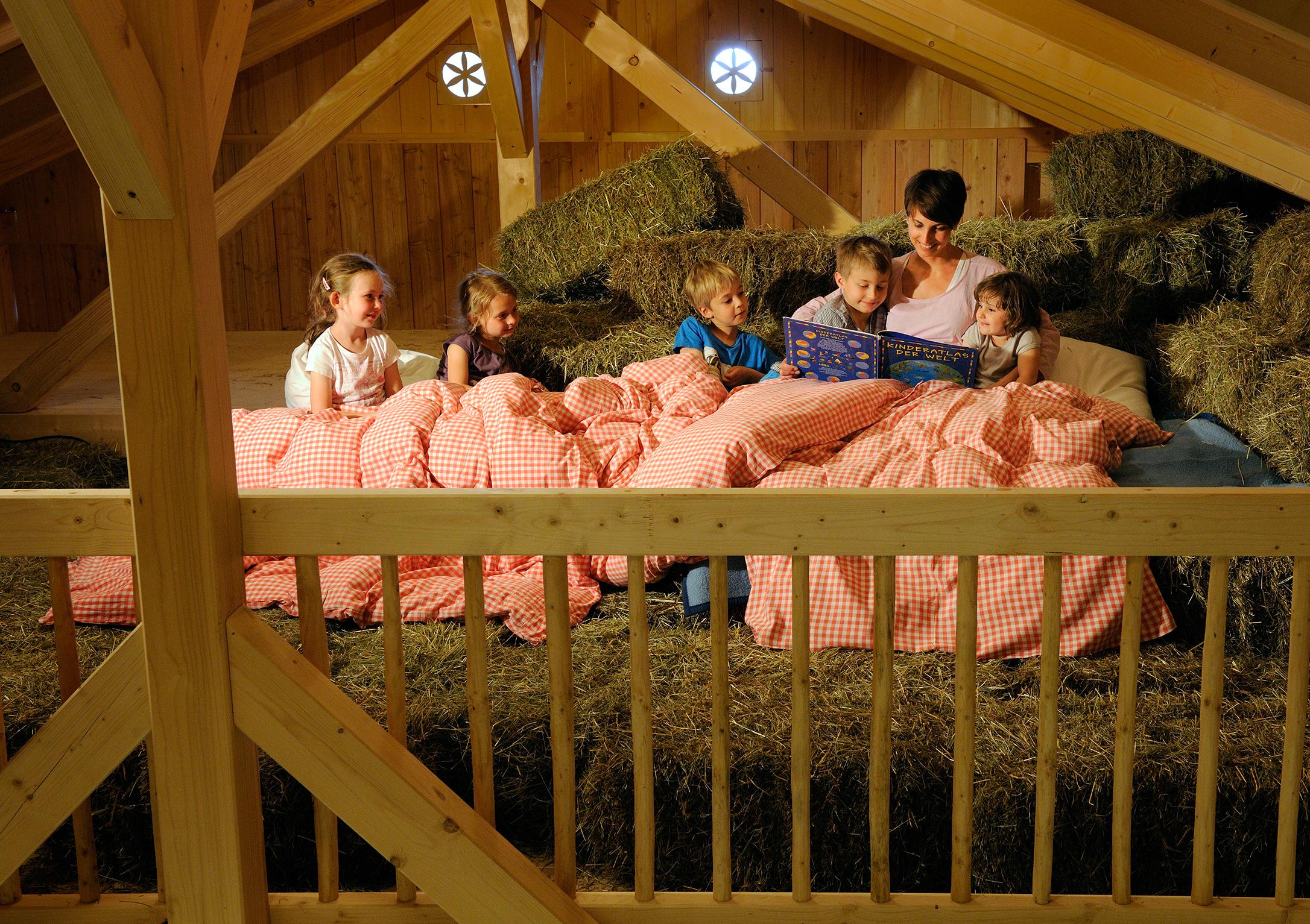 Übernachten im Tierhaus, Urlaub auf dem Bauernhof, Familienurlaub, Urlaub mit Kindern