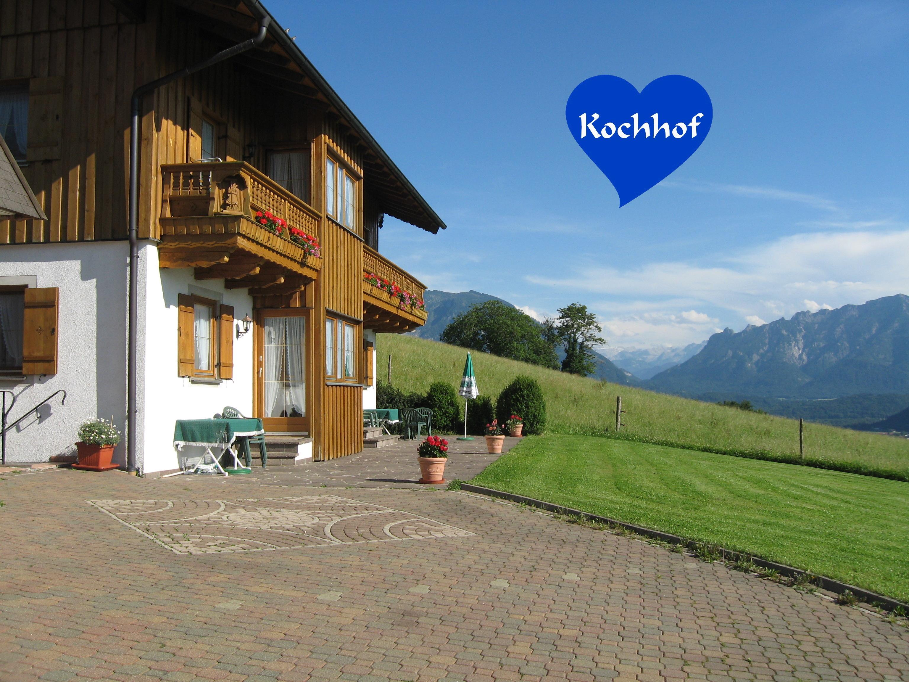 Urlaub auf dem Kochhof im schönen Berchtesgadener Land auf dem Högl