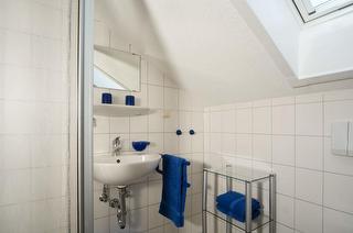 Badezimmer Ferienwohnung Spatzennest