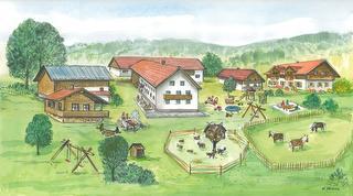 Bauernhof wie im Bilderbuch / Rechteinhaber: © Familienferienhof Wenighof