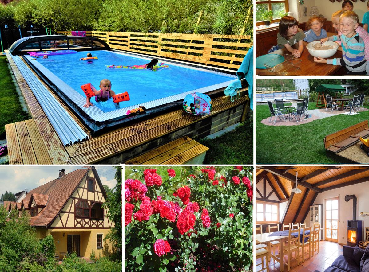 Zwei 4* Ferienwohnungen auf unserem Bio Bauernhof in der Fränkische Schweiz.