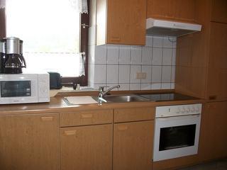 Küche Ferienwohnung I-Berg