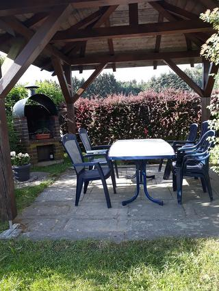 Gemütliche Sitzgelegenheit im Garten