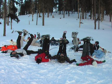 Schneeschuh -Schnupperwanderung