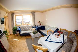 Wohnzimmer Ferienwohnung Eisenstein