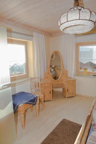 Schlafzimmer Ferienwohnung Eisenstein