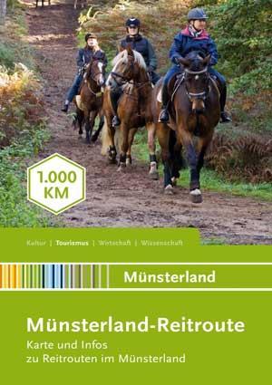 Reitkarte Münsterland Reitroute