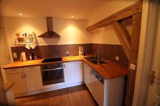 Hofblick Küche