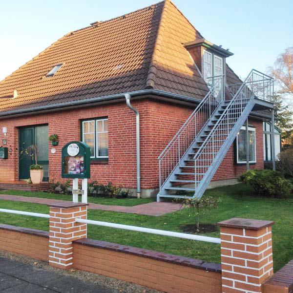 Haus Klara 083 Büsum Ferienwohnung 2 Raum Nr 083 101