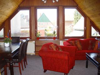 Wohnzimmer 30m² - Lütte Krabbe 124DG