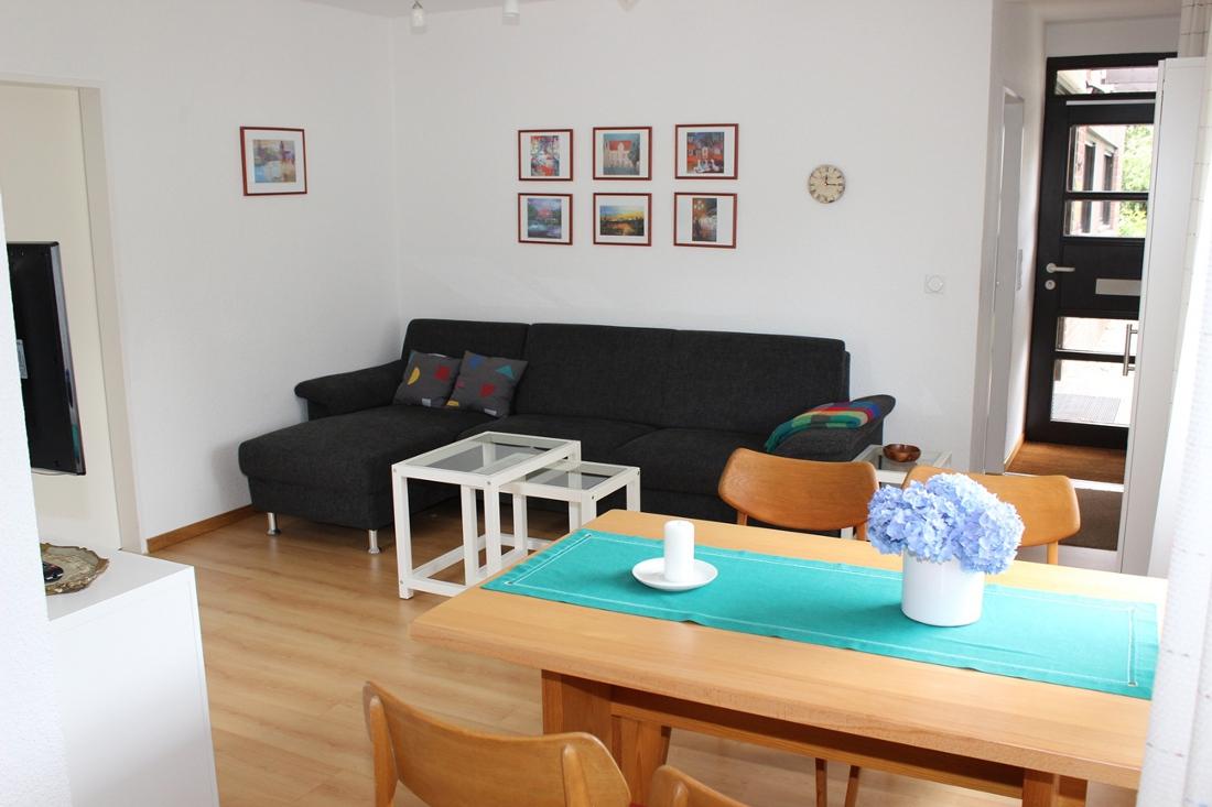 Ferienwohnung zum nordufer stausee haltern am see for Wohnzimmer 40 qm