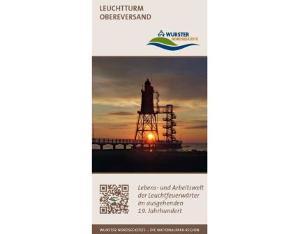 """Flyer """"Leuchtturm Obereversand"""""""
