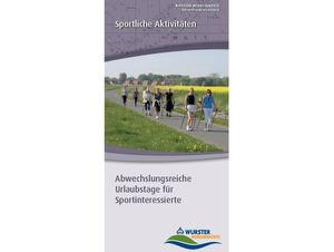 """Flyer """"Sportliche Aktivitäten"""""""