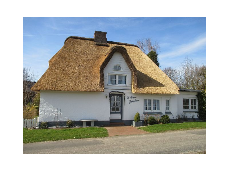 Hausansicht Ferienhaus Heidi Jakobsen, Winnert