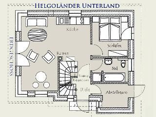 Der Deichhof - Helgoländer Unterland - Grundriss