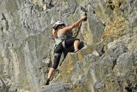 Klettererlebnis am Naturfelsen