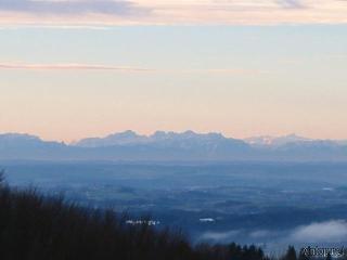 Fernblick Alpen