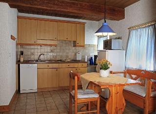 Fewo Nr. 1, Küchenbereich m. Essplatz