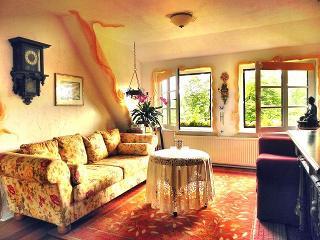 Wohnzimmer mit Ausblick nach Süden, Fewo Mulleby, R. Tetzlaff-John