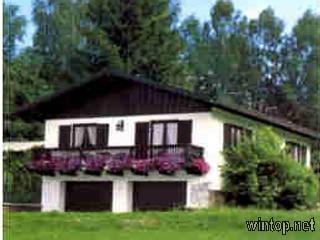 FW Haus Hirschgarten (Frauenau). Ferienhaus Hirsch Ferienhaus im Bayerischer Wald