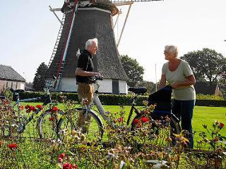 Radfahren in wunderschöner Umgebung