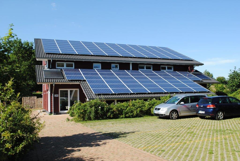 SolarFerienhaus Wolkenlos Breklum Residenz Erwin