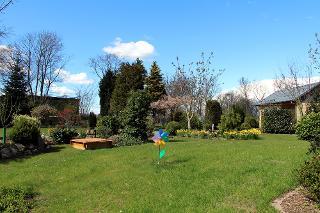 Garten der Ferienwohnung