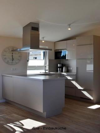 Küchenzeile im Wohnraum