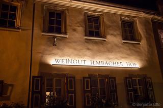 Weingut Ilmbacher Hof am Abend