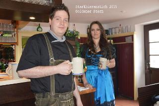 Starkbieranstich 2015 im Goldenen Stern