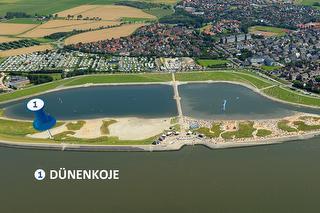 Standort Schlafstrandkorb Dünenkoje