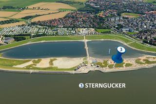 Standort Schlafstrandkorb Sterngucken