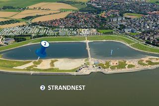 Standort Schlafstrandkorb Strandnest