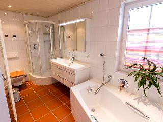 Ferienwohnung Biggesee Badezimmer