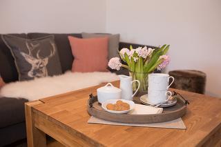 Liebevolle Einrichtung - Wohnung Lavendel