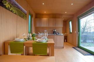 Wohnbereich-Küche