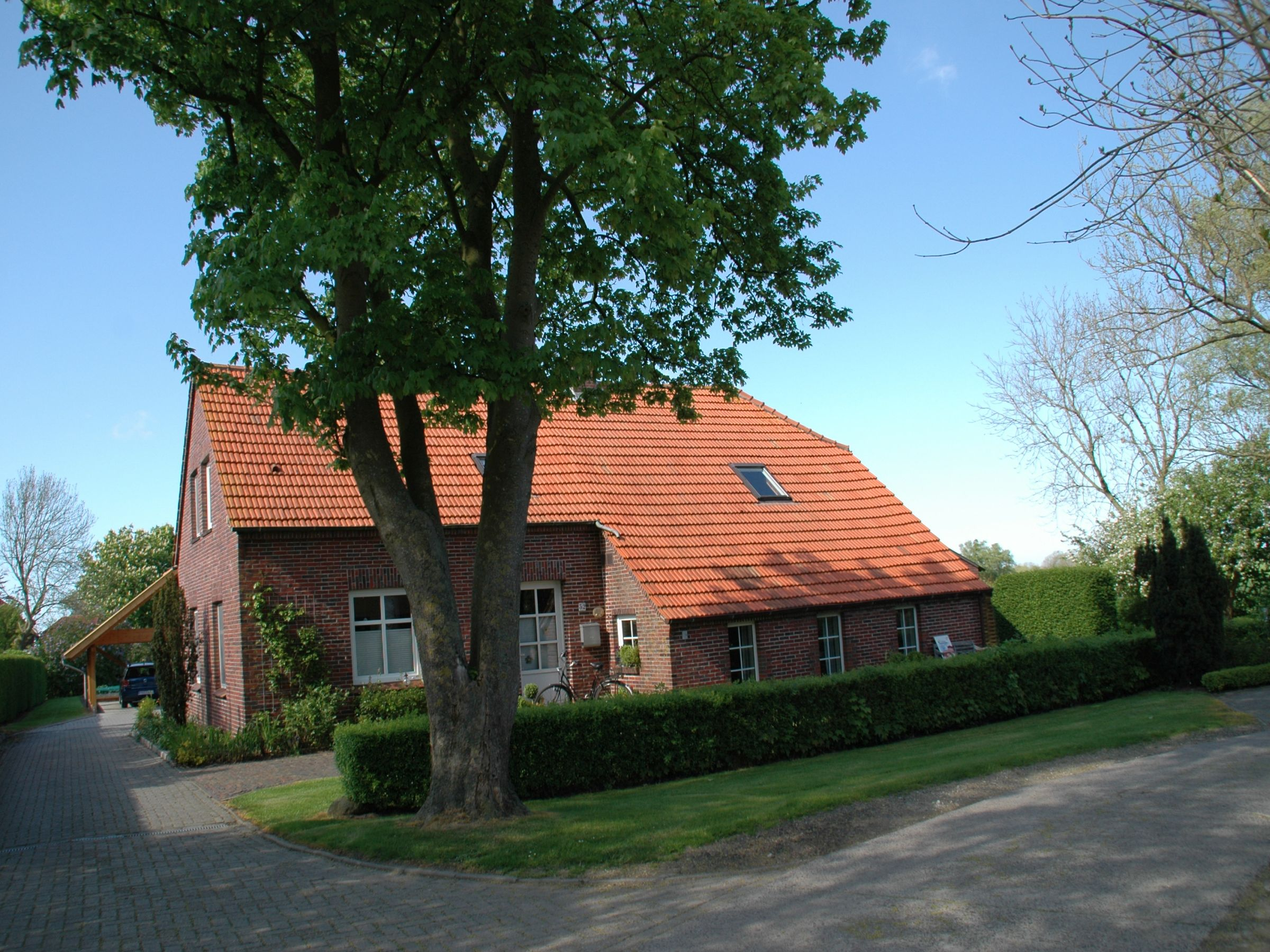 Ferienlandhaus Harms Janßen Wangerland Ferienwohnung Gartenblick 70qm 2 Schlafzimmer max 4 Personen