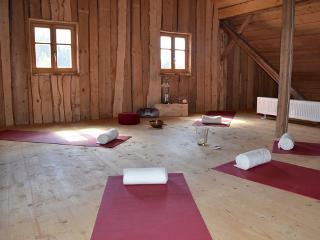 Seminarraum im Dachboden