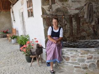 Gastgeberin Marie-Luise Freimuth