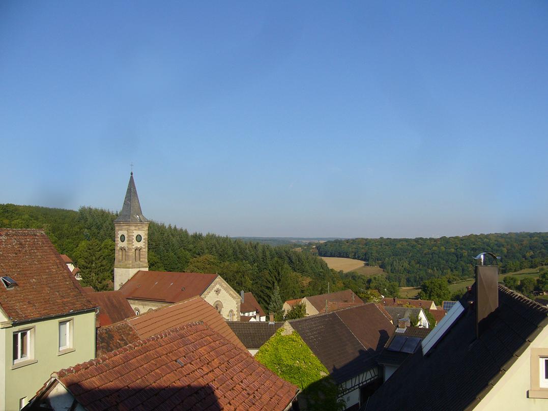 Ferienwohnung Ferienwohnungen Taubenschlag (Creglingen). Großes Nest (2215219), Creglingen, Taubertal, Baden-Württemberg, Deutschland, Bild 19