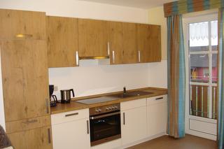 Küchenzeile Ferienwohnung Bachwiesenblick (unten)