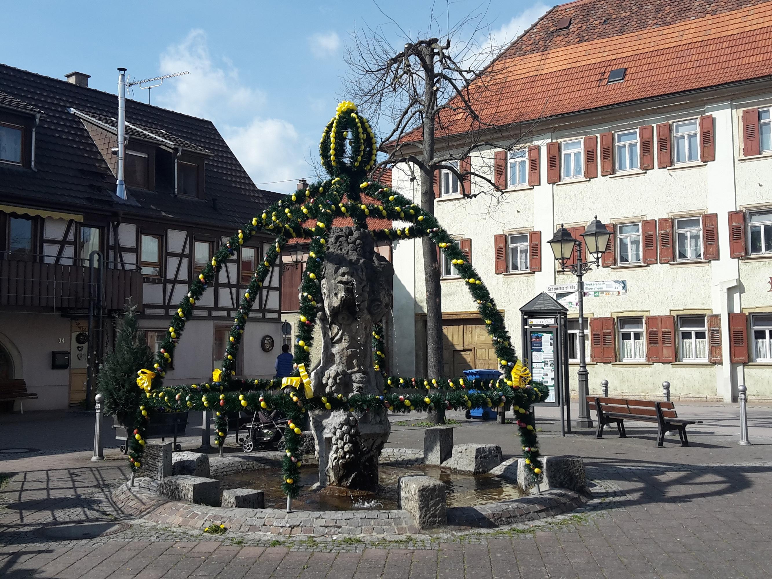 Osterbrunnen Markelsheim